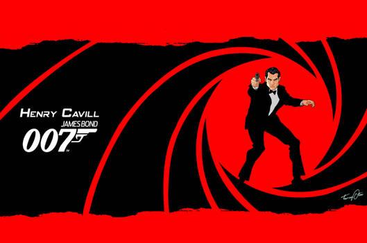 Cavill For Bond 007