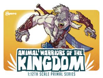 Animal Warriors Of The Kingdom PRIMAL SERIES