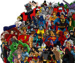 Heroes And Villains Jam Poster