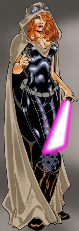 Jedi Master MARA JADE by BongzBerry