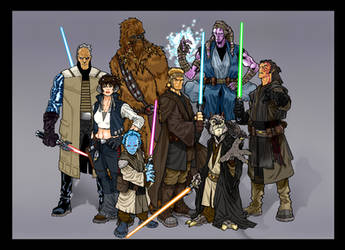 Force Chronicle : JEDI by BongzBerry