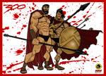 300: Leonidas and Stelios