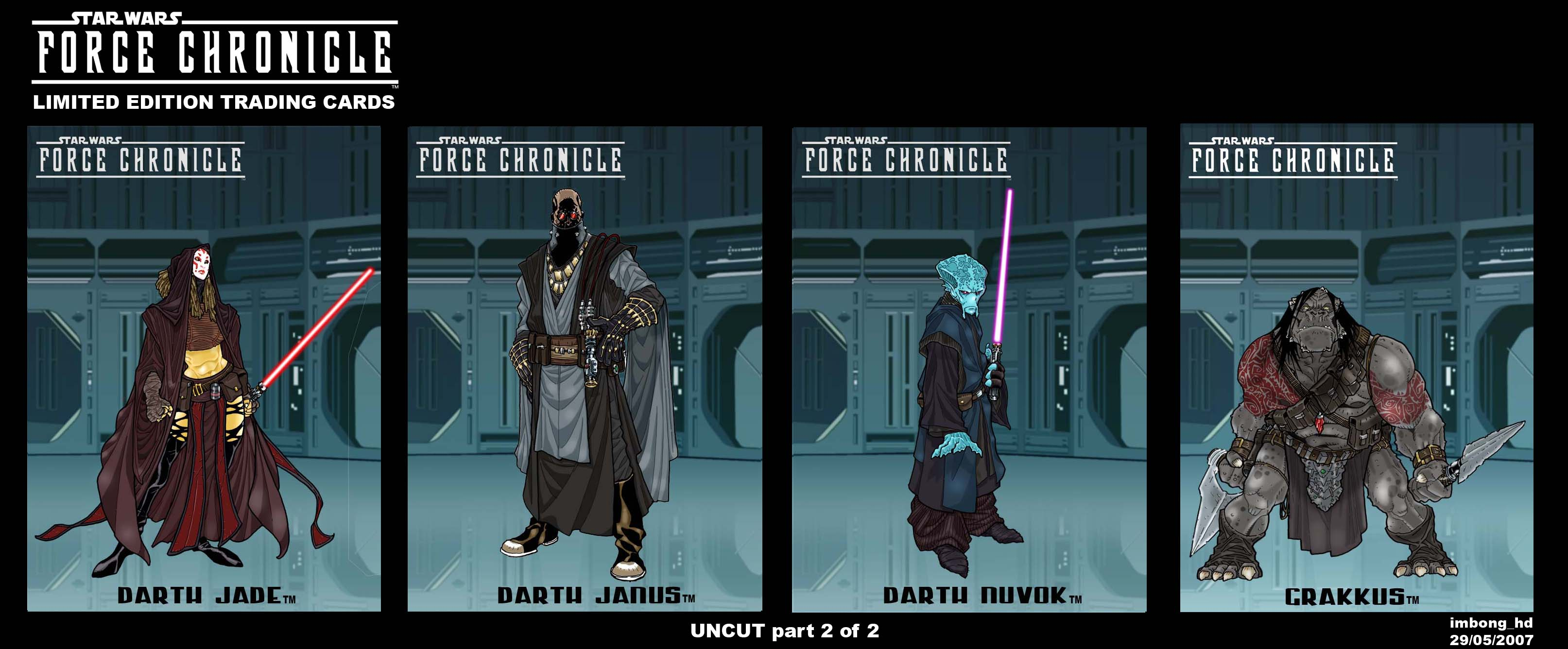 Force Chronicle : SITH part 2
