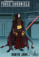 Force Chronicle : DARTH JADE by BongzBerry