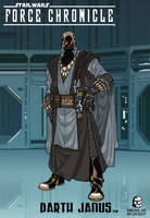 Force Chronicle: DARTH JANUS by BongzBerry