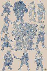 RAMAYANA : Characters Designs