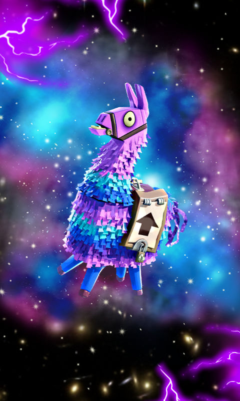 Galaxy Llama Phone Wallpaper By 19sharkytheshark19 On Deviantart