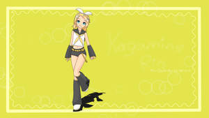 Kagamine Rin Fan Art by Emosoftwere
