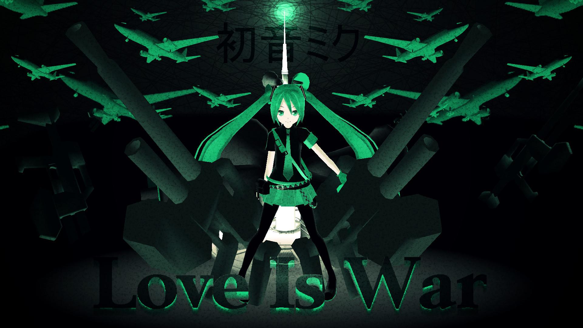 Love Is War Hatsune Miku By Emosoftwere On Deviantart