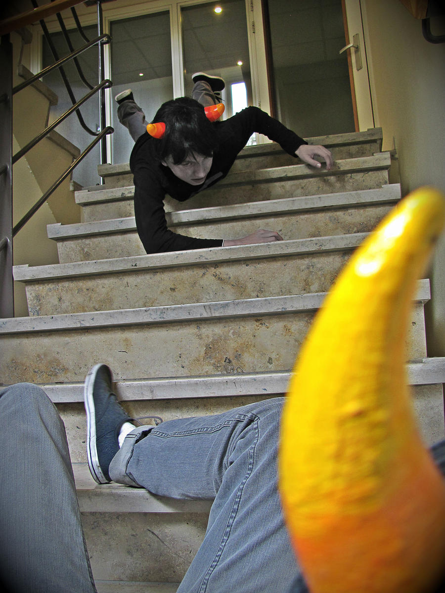 Homestuck Cosplay - Pagina 15 I_warned_you_about_the_stairs__bro__by_spitfire_productions-d5crdjv