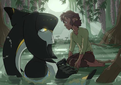 Enu and Zaris