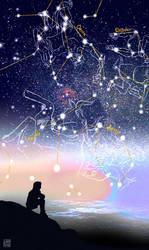 Dream #261: Constelations. by LadyYomi