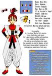 DB Kame Warriors: Rice Ritz, character sheet! by LadyYomi