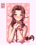 FFVII: Happy birthday, flower girl!