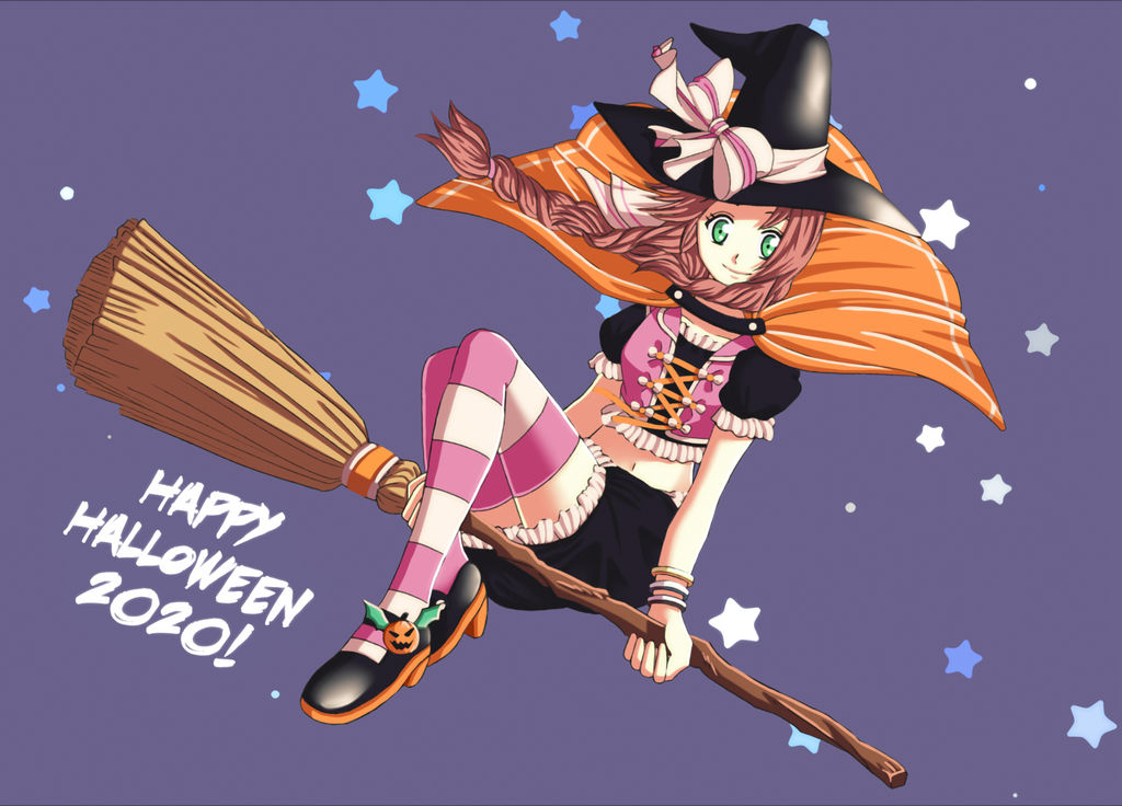 FFVII: Witch Aerith, Halloween 2020!