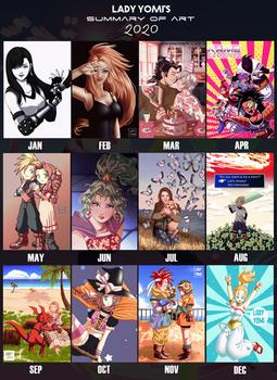 2020 Art summary: Lady Yomi!