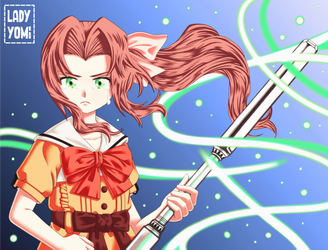 FF7: The future is not only yours! | Aerith B-day.