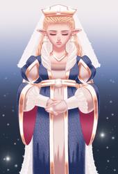 TLOZ: Red Sun Revolt's Princess Zelda! (DTIYS)