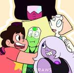 Steven Universe - 'I caught a Peridot!'