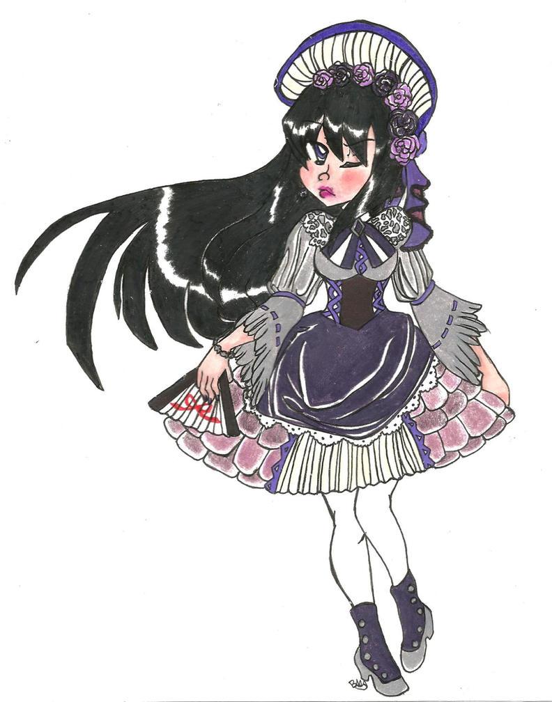 PMMM: Lolita Homura by Sketch75