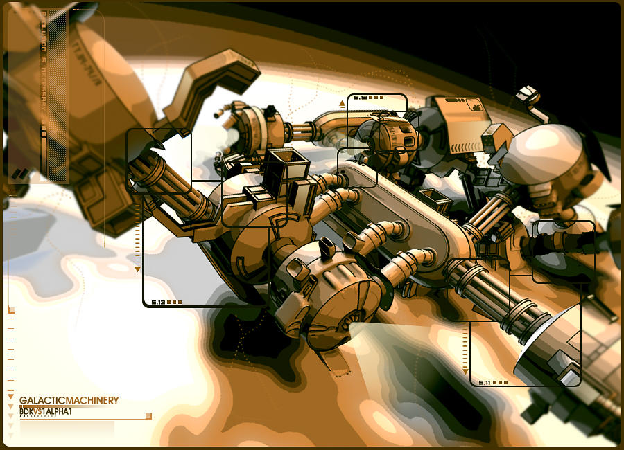 galactic machinery by bdk14