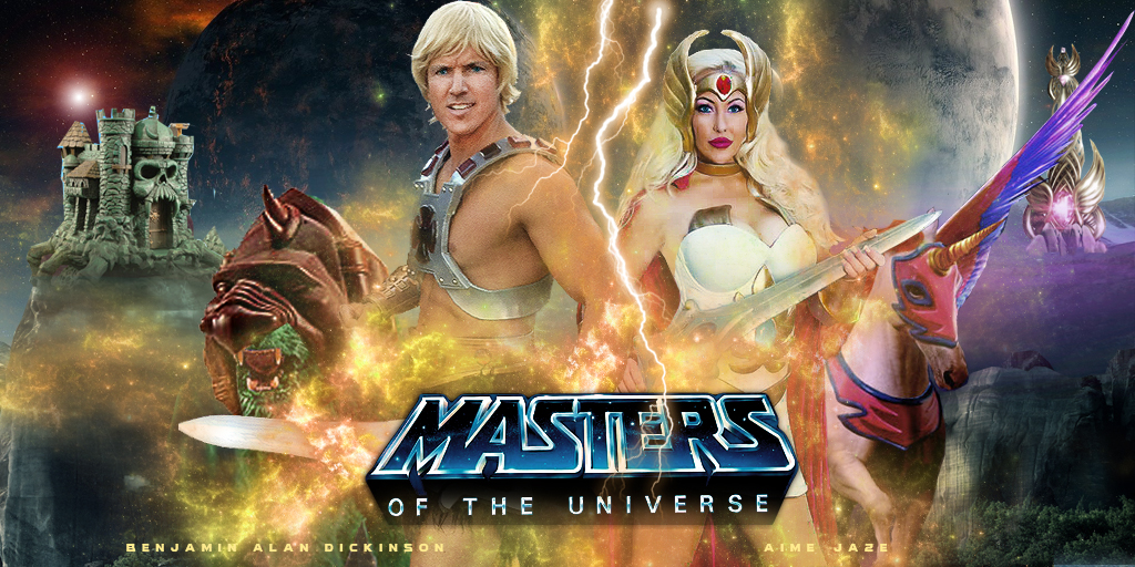 Masters of the Universe Cosplay by captainjaze