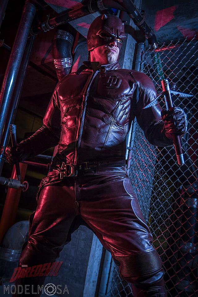 Daredevil Cosplay by captainjaze