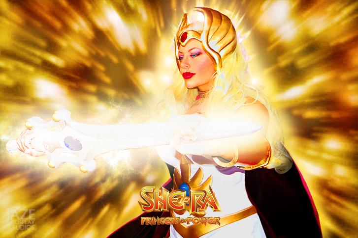 For the honor of Grayskull..I AM SHE-RA!!! by captainjaze