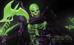The Evil Ghost of SKELETOR! SCARE GLOW!!!