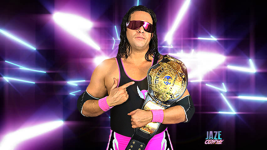 Wwe Champion Bret The Hitman Hart Cosplay By Captainjaze On Deviantart