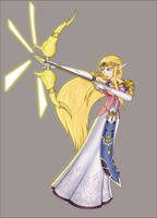 None-parchment Zelda by Lady-Zelda-of-Hyrule