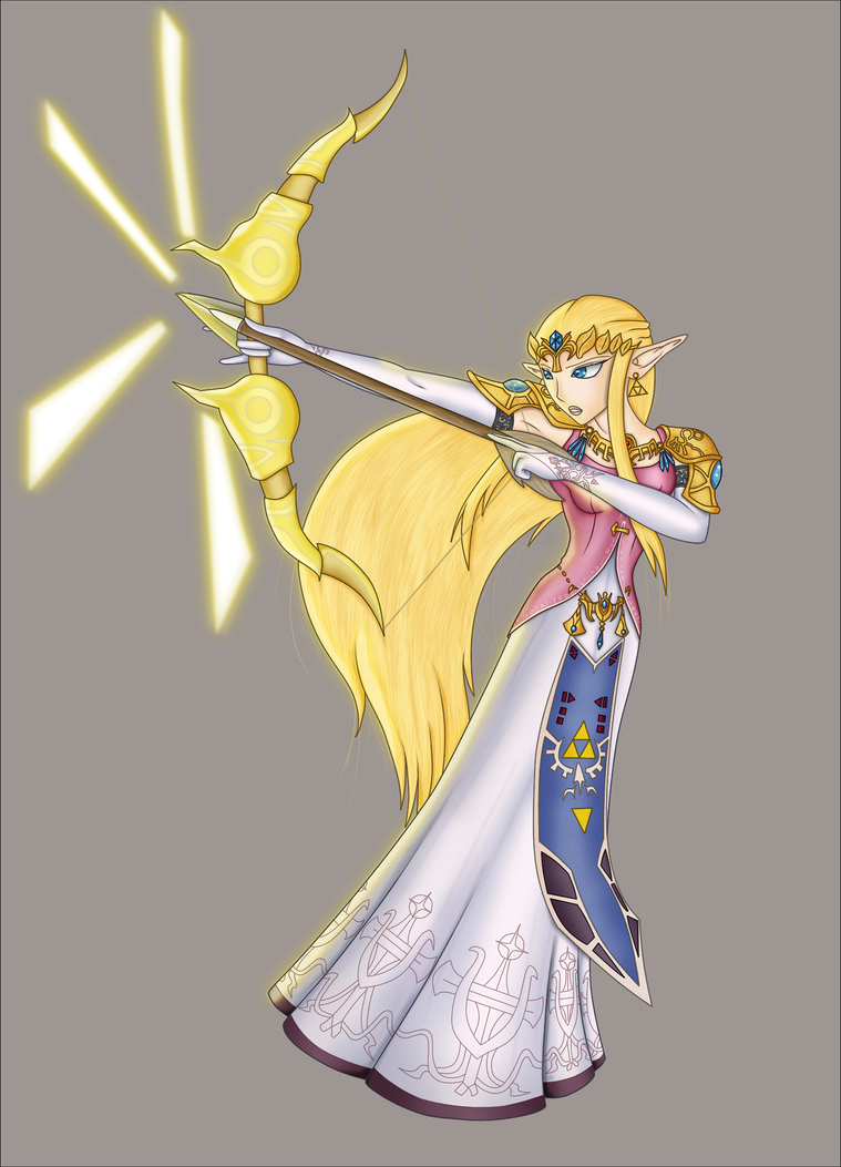 None-parchment Zelda by Lady-Zelda-of-Hyrule