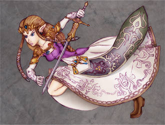 :+Princess Zelda - Collab+: by Lady-Zelda-of-Hyrule