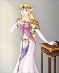 Glamour Shot Zelda: Colour