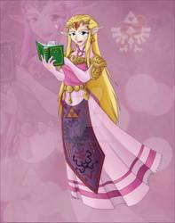 Glamour Shot Zelda :Nostalgia: by Lady-Zelda-of-Hyrule