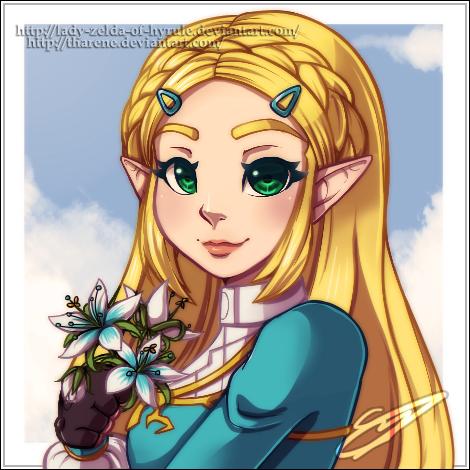 Collab: Flower Girl by Lady-Zelda-of-Hyrule