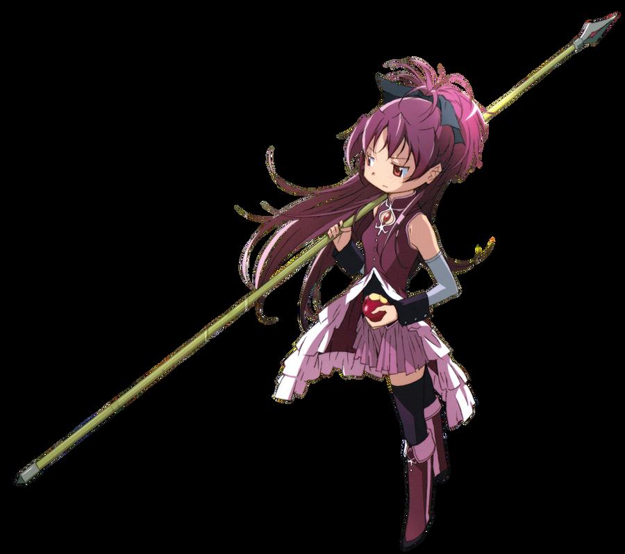 Render: Kyoko Sakura by Cookie-desu
