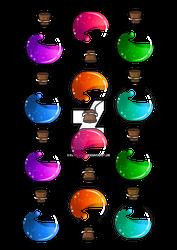 Magic potion charms