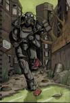 Fallout 4 - Downtown Boston Coloured
