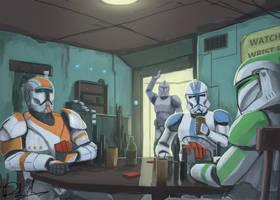 Clone Poker (Timelapse) by SirDanielsArt
