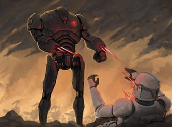 Star Wars - Battle Droids (Timelapse)