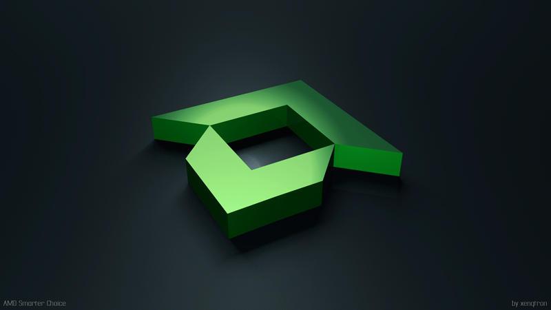AMD HD Wallpaper by xenQtron