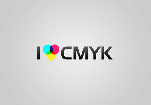 I Love CMYK