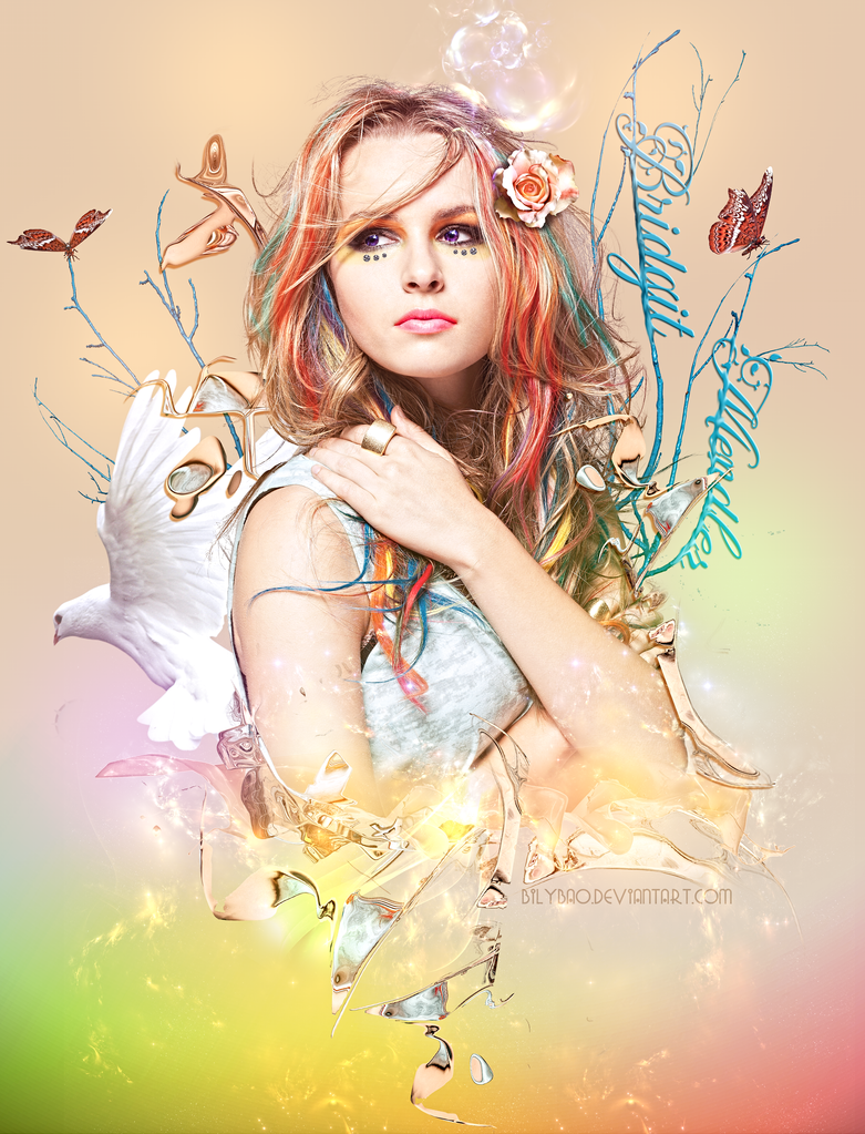 Bridgit Mendler by BiLyBao