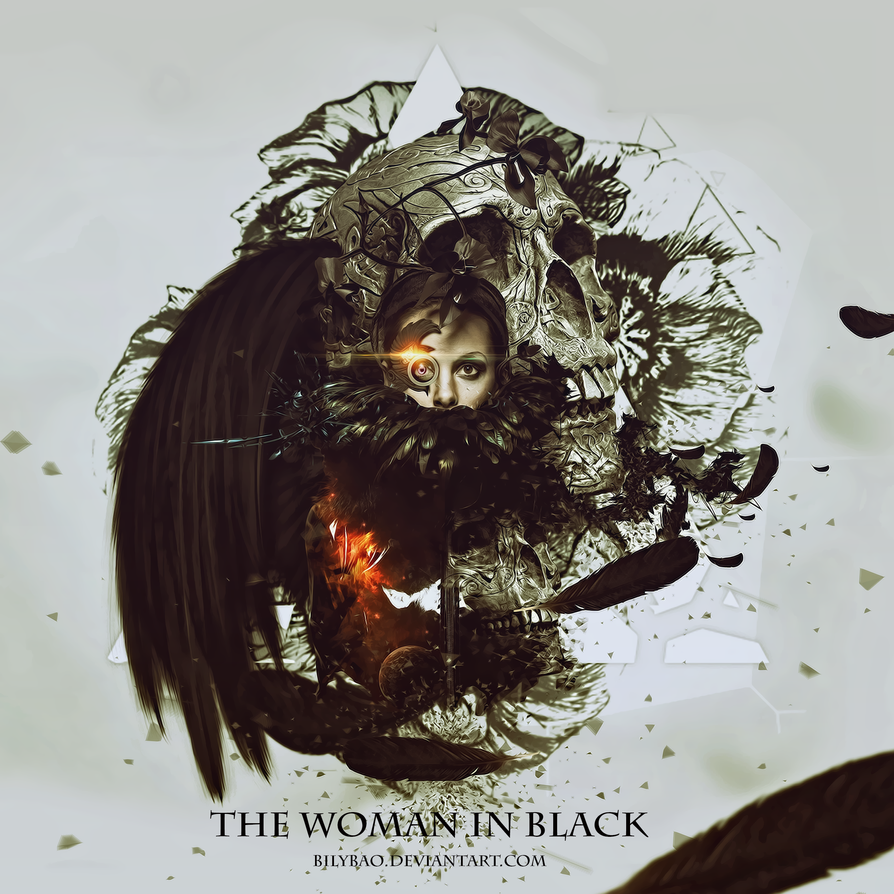 Woman In Black by BiLyBao
