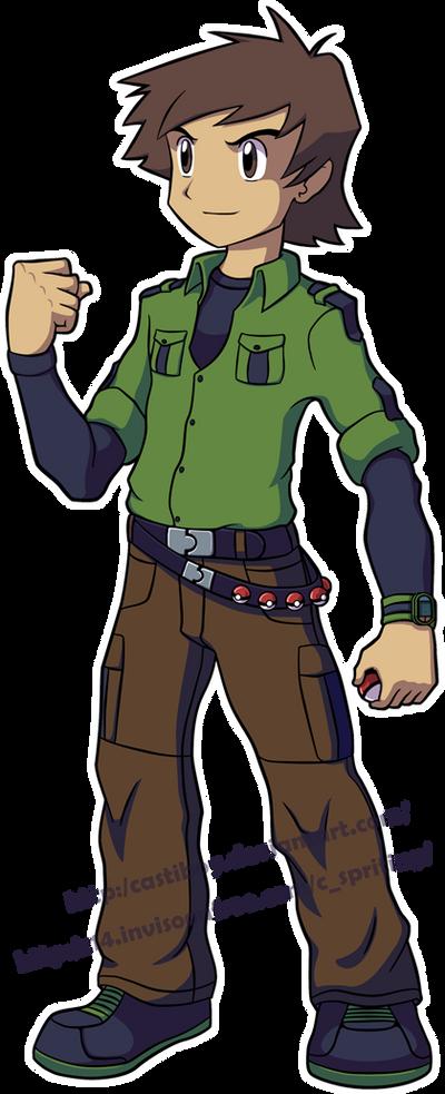 pokemon trainer by castiboy