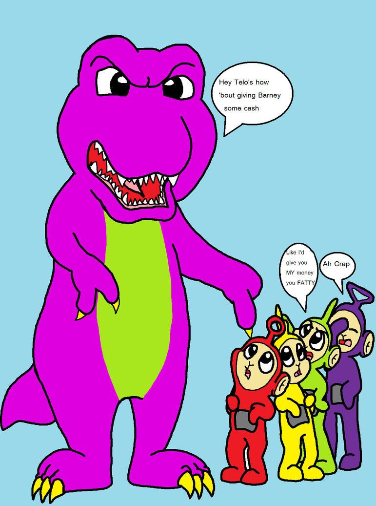 Barney The Bully by Zesty-Tacos on deviantART
