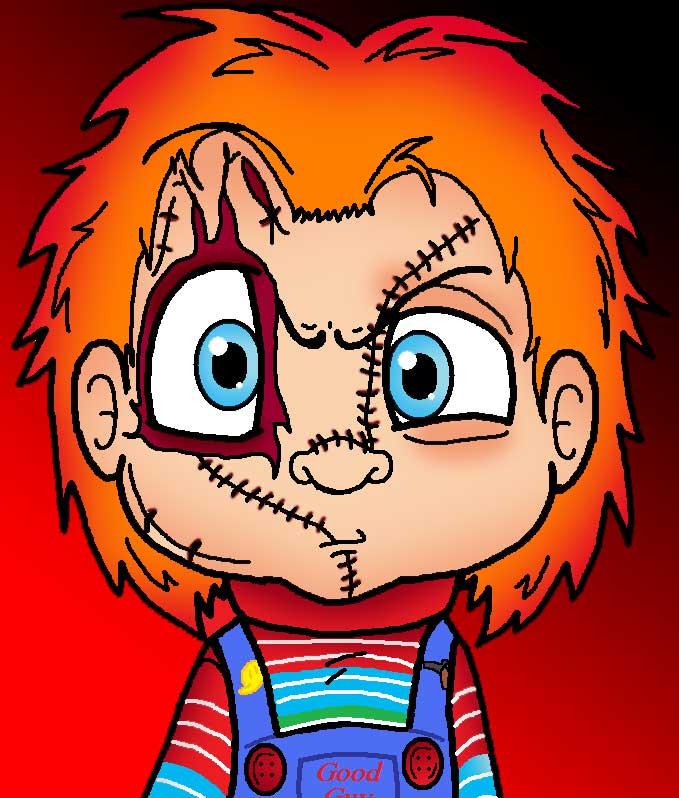 Chucky Cartoon Drawings   lol rofl.com