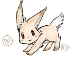 PreEevee Contest by lugkedodragon
