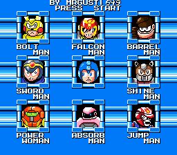 Megaman Heaven - Robot Masters by MRGUSTI649
